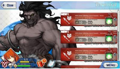 How to farm EXP cards & level fast | Fate Grand Order (FGO) - GameA