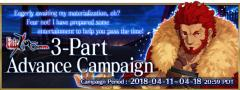 Fate/Accel Zero Order Advance Campaign